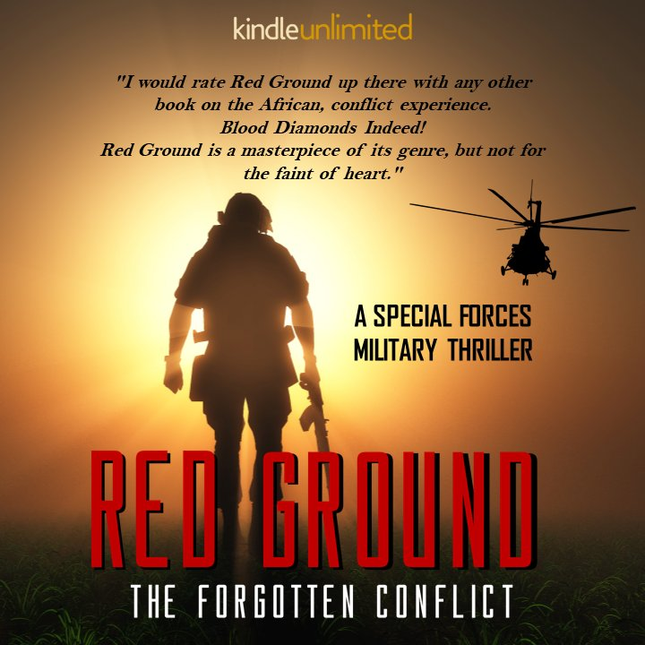 Red Ground is a masterpiece of its genre, but not for the faint of heart... A #Military #thriller Part Fiction. Part True. All Action.   by @kenfry10  get it now    pls RT  #iartg  #asmsg  #bookboost