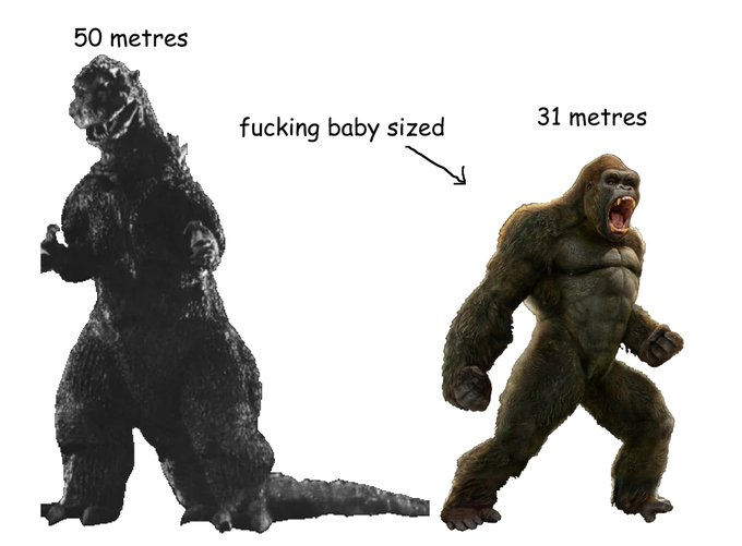King Kongs Height in Each Movie | CBR Photo