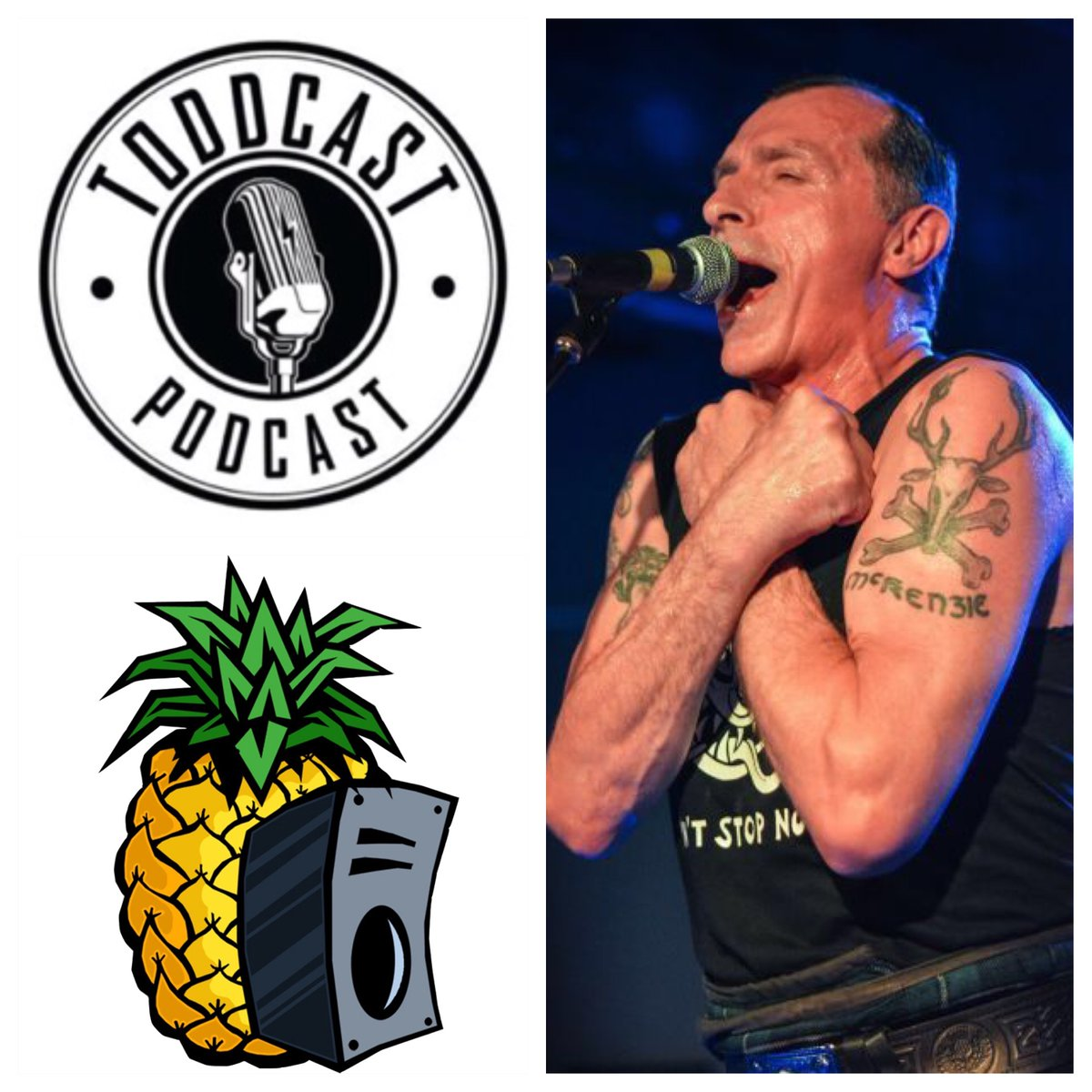 Watch a 54 minute video #podcast with#TheRealMcKenzies singer PaulMcKenzie!    * Musical guestvisits are powered by #PineappleSoundrecording and mixing services in #Langley!