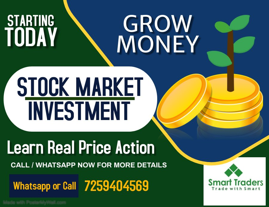 Lear Real Price Action from Smart Traders   Call - +917259404569   Telegram    Website   #smarttradersonline #StockMarket #stockstowatch #StocksToTrade #stock