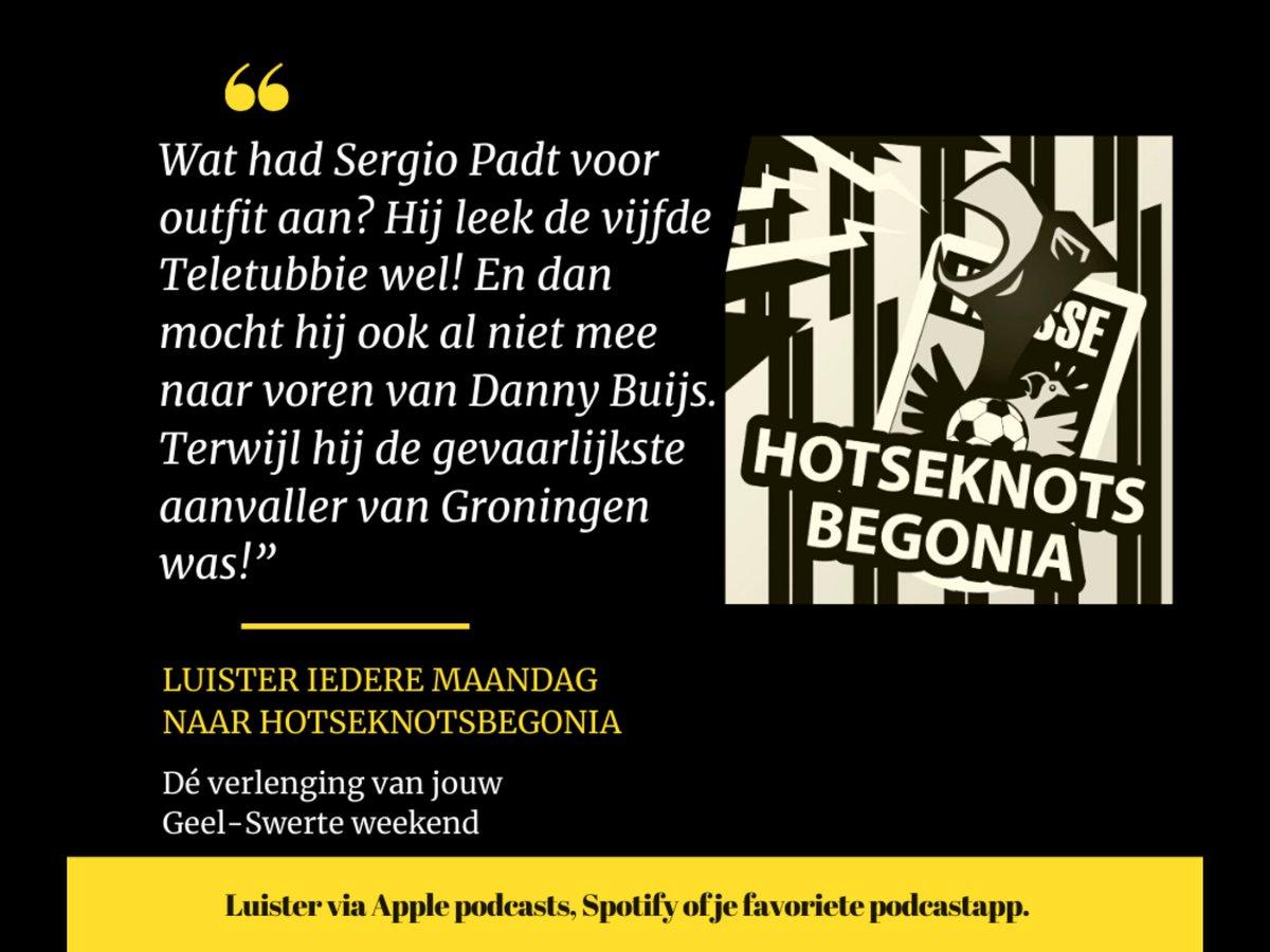 De derde editie van Hotseknotsbegonia staat weer online. Veel luisterplezier met de verlenging van jouw Geel-Swerte weekend! #hotseknotsbegonia #podcast #vitesse #eredivisie #arnhem