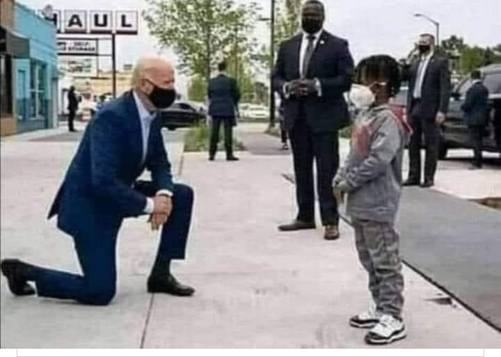 """All world leaders should inculcate some meanness after discovering such a gesture by none other than the President of America """"Most Powerful Nation of the World"""".  @JoeBiden @KamalaHarris #America"""