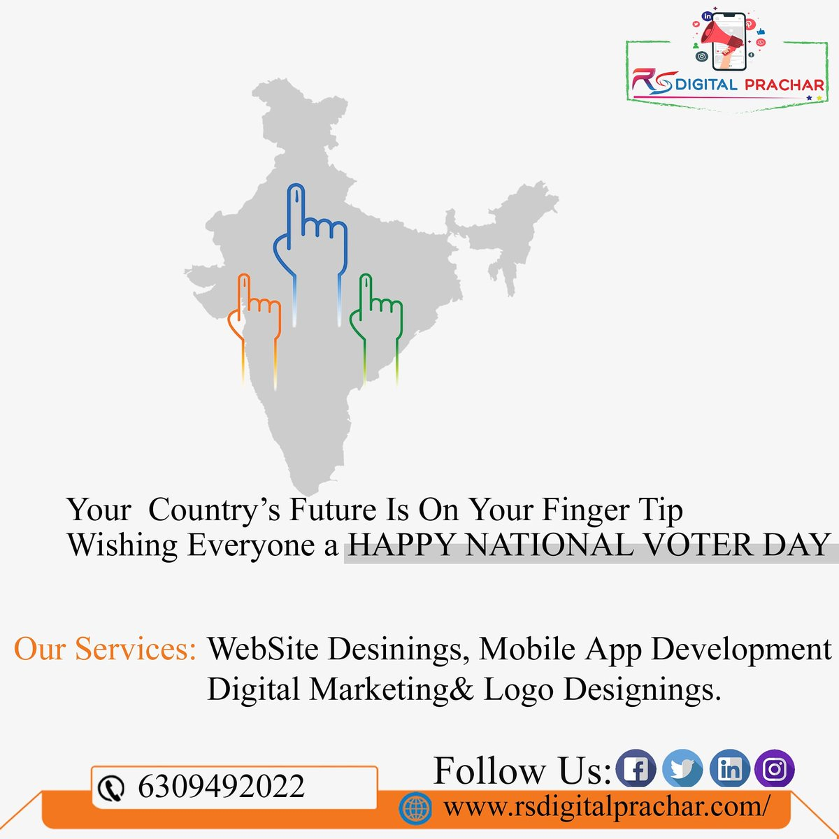 your contry's future is on your finger tip wishing everyone a happy #nationalvoterday #voting #vote #election #elections #politics #votingmatters #democracy #votingrights #electionday  #govote #registertovote #voterregistration #ivoted #votebymail #news #government #voter