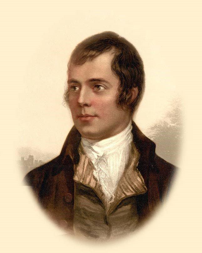 "#OnThisDay Scottish Poet Robert ""Robbie"" Burns was born. 25 January 1759 in Alloway, Ayrshire, Scotland. #BurnsNight 🏴"