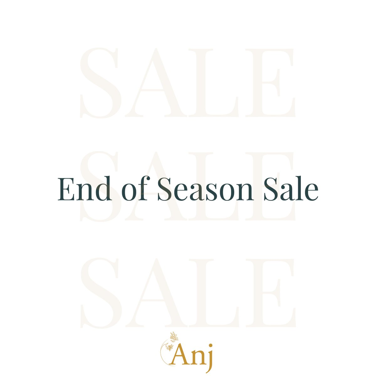 Celebrate this season with Anj's special End of Season sale. Visit our website now or call us on +91-7208612777 / +91-9004078377 to Book an appointment.  #anj #anjindia #anjfashion #endofseasonsale #eoss #couturesale #fashionsale #luxurypretwear #indianpret #designeroutfits