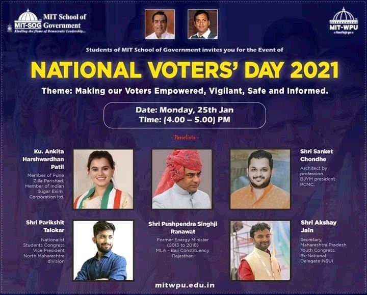 #NationalVotersDay  #BJYMPCMC #youthsports  #yuvashaktiwithmodi   @VikrantBG @JDumde @BJP4India @_gauravsukre @sanketchondhe10 @shivrajblink
