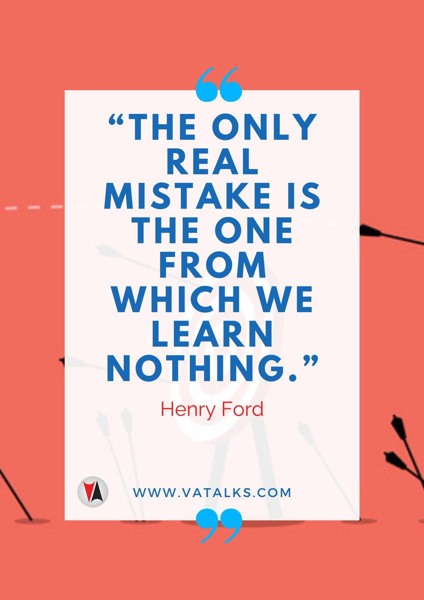 """""""The only real mistake is the one from which we learn nothing."""" - Henry Ford  #influencer #thankful #life #happy #fun #love #MondayMotivation #MondayBlues #MondayMood #instagood #nofilter #photooftheday #igers #picoftheday #lifeisgood #instapic #instadaily #instamood"""