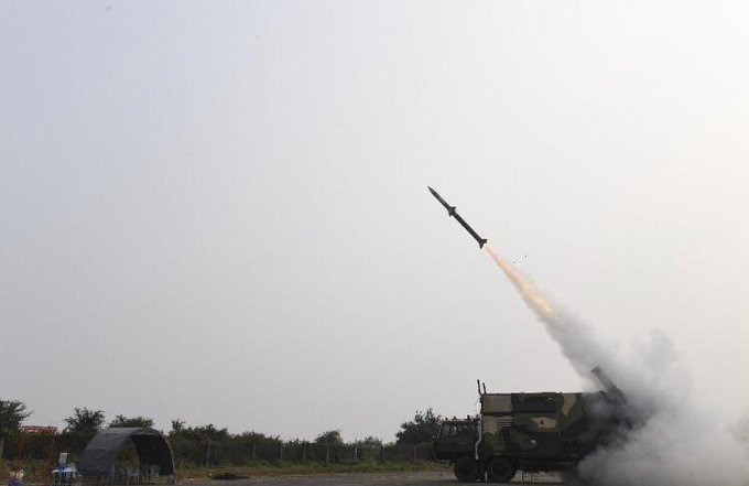 Maiden Test Launch of Indias Akash NG Missile Photo