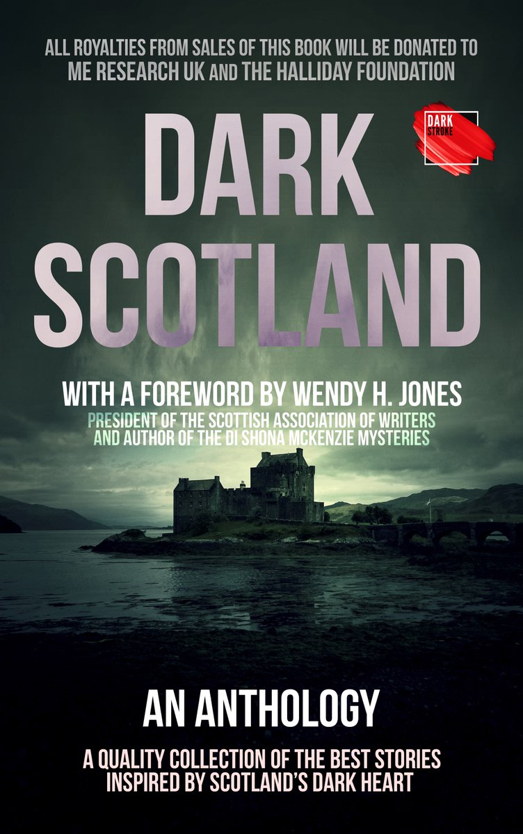 """⭐️⭐️⭐️⭐️⭐️ """"A compelling read""""  Wishing you a bonnie Burns Night! 🏴 And what better way to end an evening of great food & a few drams than with an gripping read: Dark Scotland!   Scotland – a mysterious place full of dark happenings…   #anthology #KU"""