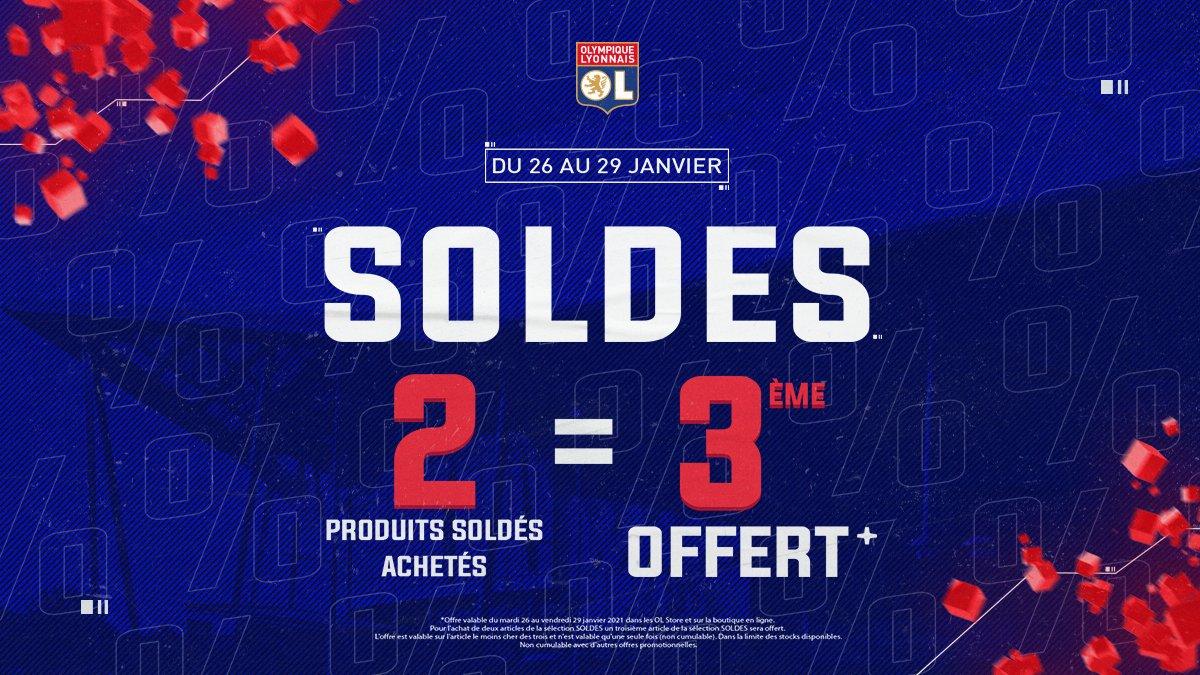 🔴 #SOLDES 🔵  2ème démarque : pour 2 produits achetés le troisième est OFFERT ! C'est le moment de vous faire plaisir !   👉