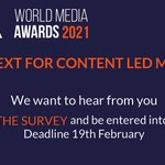 Image for the Tweet beginning: Will content-led strategies play a