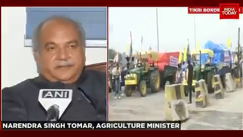 The government is working with an open mind: Agriculture Minister Narendra Singh Tomar talks about the controversy over farm laws 2020.  #ITVideo #FarmLaws2020 #FarmersProtest