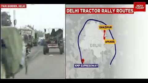Tractor rally all set to take off on Republic Day. Preparations are in full swing. Watch this report to know more.  #ITVideo #TractorRally #RepublicDay #FarmersProtest