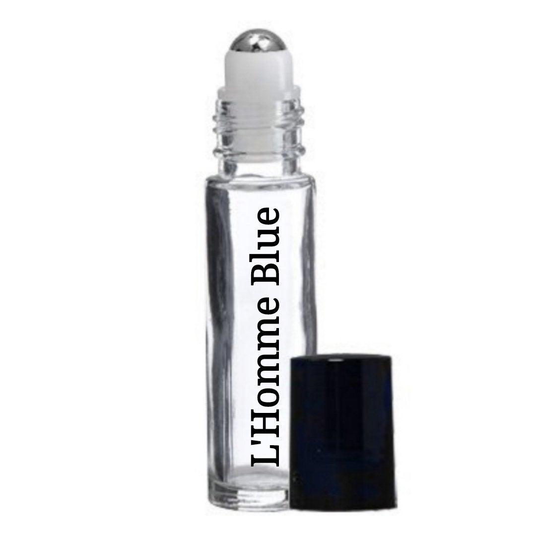 L'Homme Blue (type inspired) Roll-On Perfume Body Oil  #PerfumeBodyOils #Incense #CyberMonday #GiftShopSale #AromatherapyOil #Etsy #Wedding #HomeFragranceOil #HerbalRemedies #BlackFriday #RollOnBottles