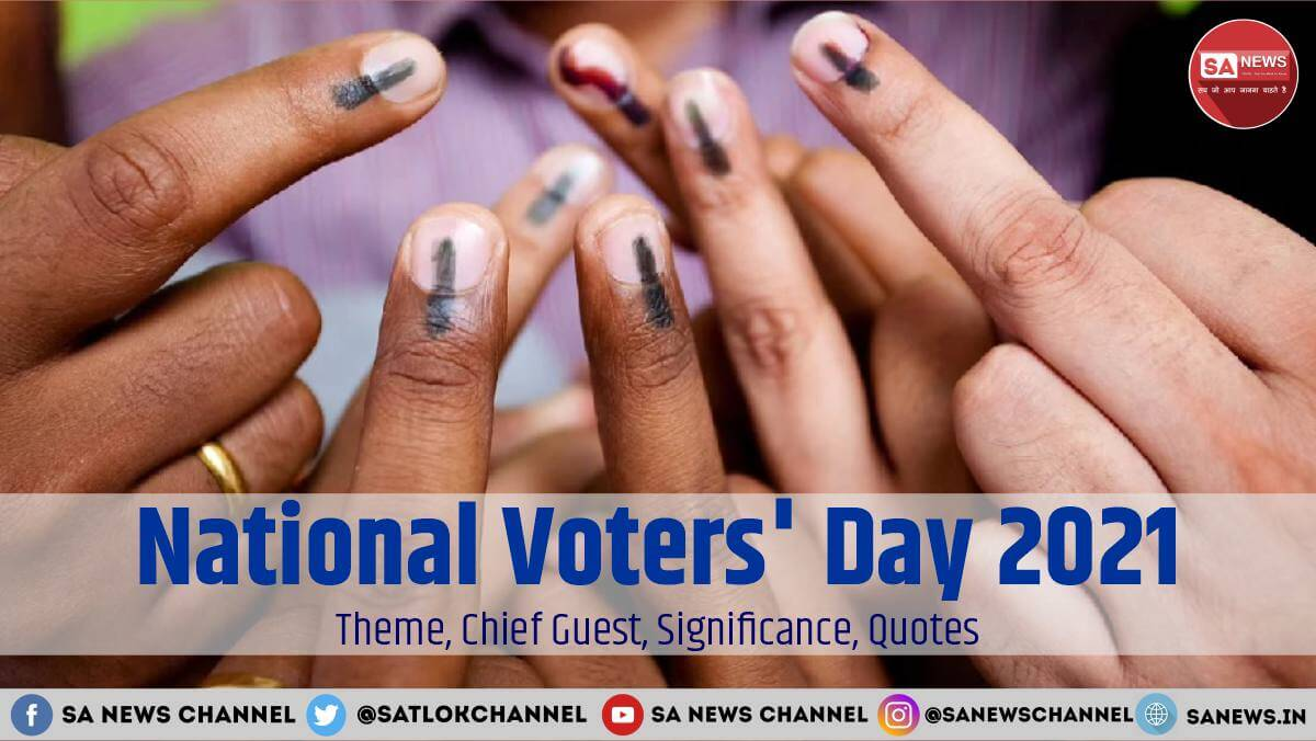 The #NationalVotersDay of India is observed on 25 January every year by Election Commission of India. @SaintrampaljiM says in His Satsangs (Spiritual Discourses) that we need to identify our Real Father Supreme God Kabir Ji.  Read more:👉