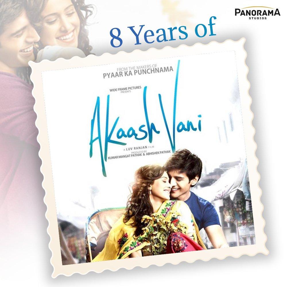 True love finds its way back despite any circumstances.  It has been 8 years now, but the love story of #AkaashVani still manages to tug at our heartstrings after all this time.  @TheAaryanKartik@Nushrratt@mesunnysingh #FatimaSanaShaikh@KumarMangat@AbhishekPathakk@luv_ranjan