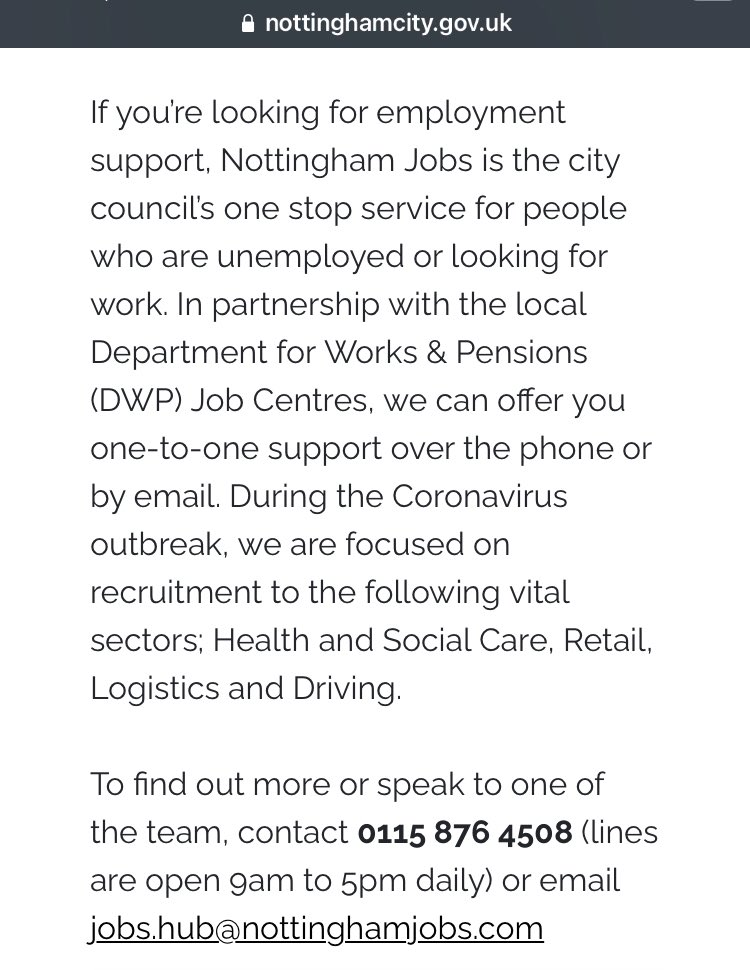 Terrible news that all 118 Debenhams stores will close for good over the coming weeks. The #Nottingham Jobs @nottmjobs service is available to City of Nottingham residents for support, advice & job vacancies. More info here: nottinghamjobs.com