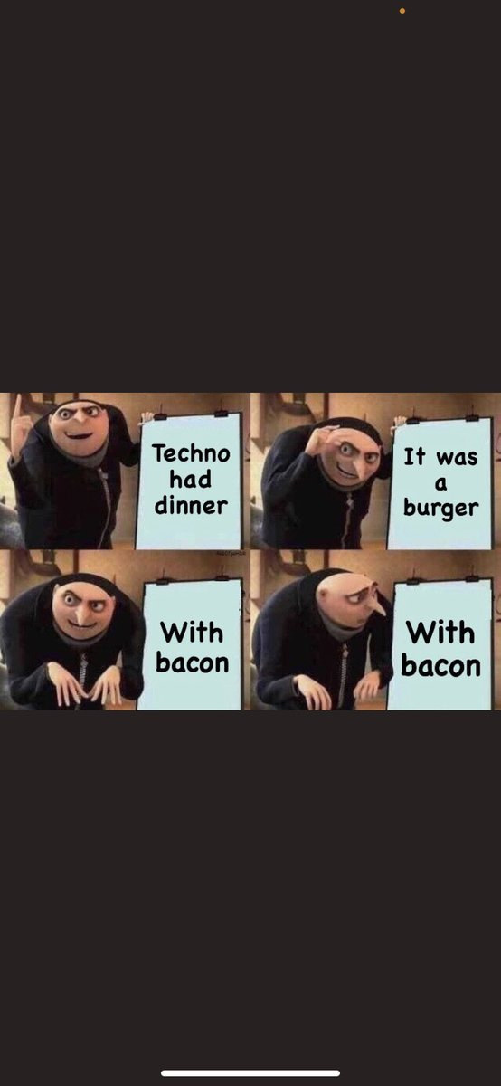 Wow the cannibalism #technoatebacon                                          Anyways subscribe to technoblade