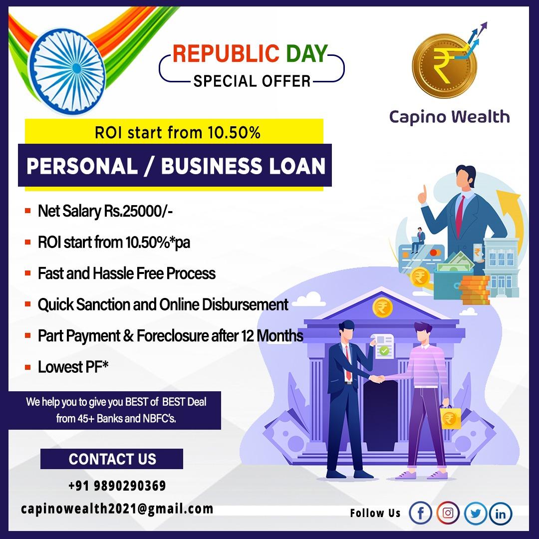 Get #personalloan at lowest interest rates   For more details refer image  #loans #pl #businessloan #BreakingNews