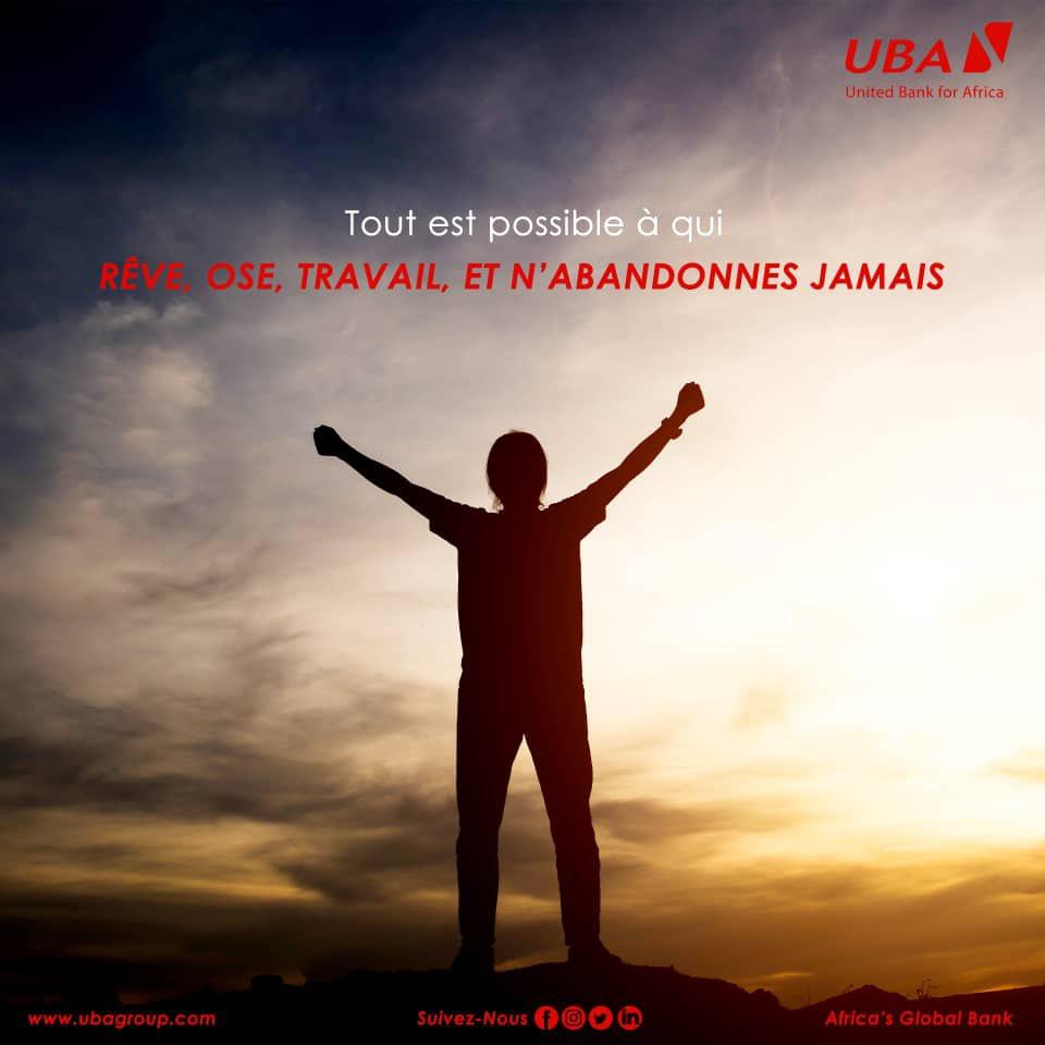 Allez ! On se motive 💪🏾  Excellente semaine de courage , de travail et de succès ✊🏾🙌🏾  #MondayMotivation #MondayMood #LetsDoThis #AfricasGlobalBank