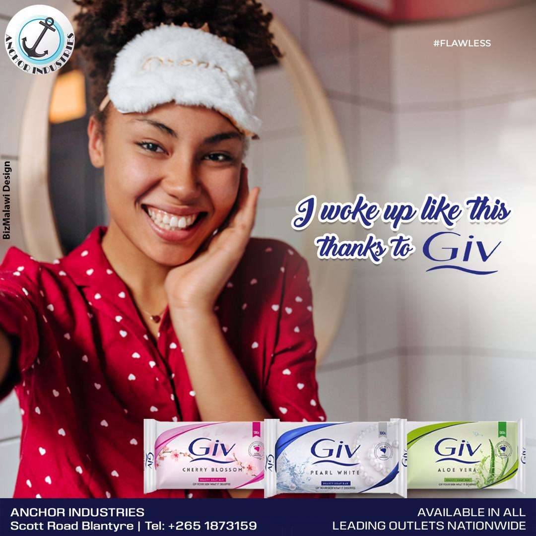 Wake up feeling amazing and go and rule the day  More Info :-   #beautysoap #softskin #proudlymalawian #fragrantsoap #AnchorIndustries #Malawi #SkinCare #Soap #GivAloeVera #GivCherryBlossom #GivPearlwhite