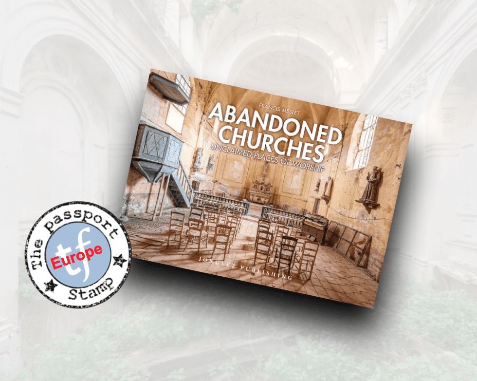 Another in the @Jonglez_Publish #Abandoned... series  #Churches  Set all around #Europe these bastions of faith are now crumbling and sad   #urbanexploration with Francis Meslet @pomzed