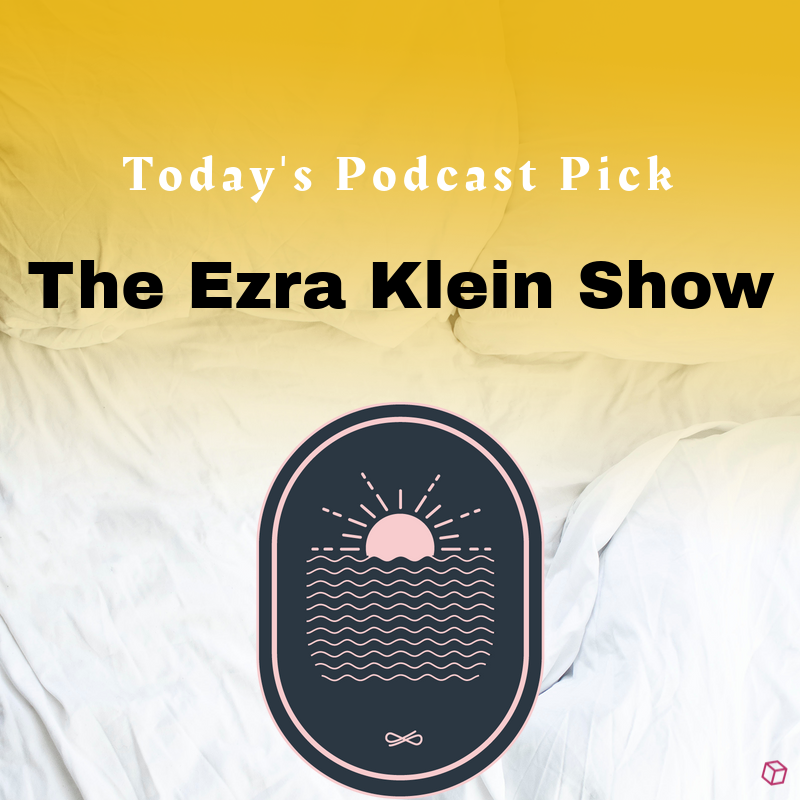 """Today's #PodOfTheday is """"The Ezra Klein show"""", Each Tuesday and Friday, @ezraklein invites you into a conversation on something that matters.  A wide range of important topics are discussed on this show, definitely worth checking out. #PodcastRecommendations"""