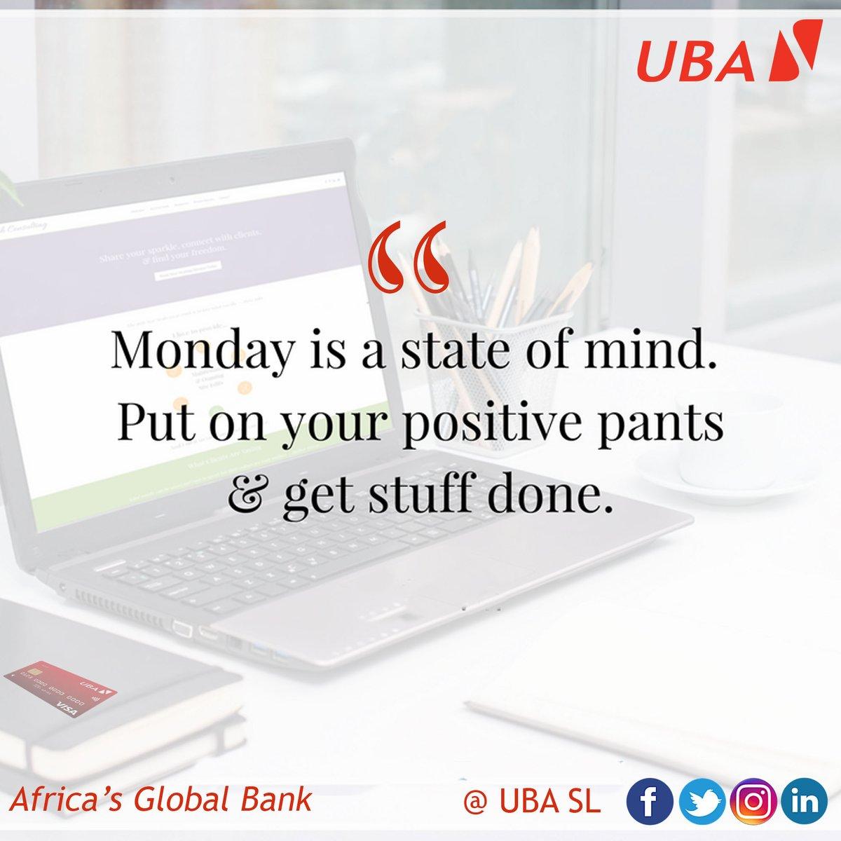 Good Morning!  #Monday #UBASierraLeone #Africasglobalbank