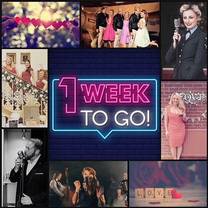 We're feeling the love this #motivationmonday and with just ONE week to go until we announce our next BIG project we're fired up and raring to go!! 💯 @HWStarlets @Riverside_UK @TheDDayDarlings @TheBombBelles @BombshellBeaus #comingsoon #events #ents #eventprofs #revival 💛