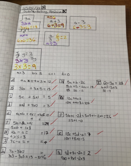 Mr Simmons is extremely proud of Jakob's work in year 9. Clear presentation and lots of effort gone into his maths work. #maths #proud #success #Superstar