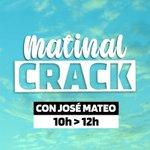 Image for the Tweet beginning: 🔴EN DIRECTO | #MatinalCrack con