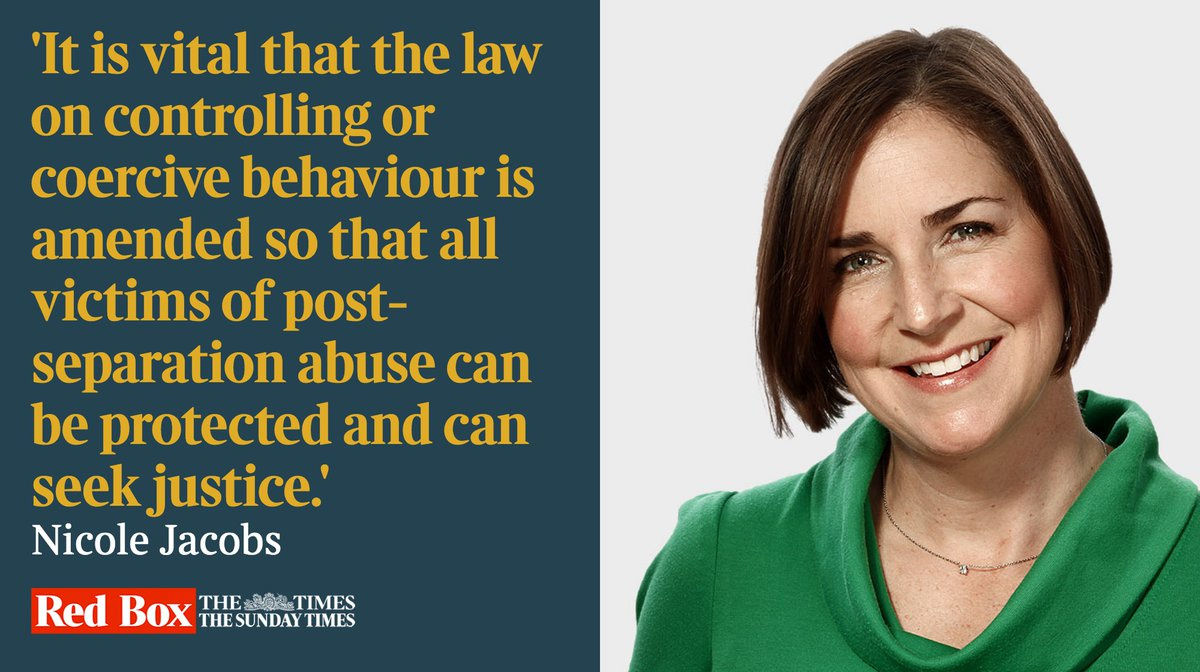 Women are often better protected if they stay with their abusers — this must change, writes @nicolejacobsST