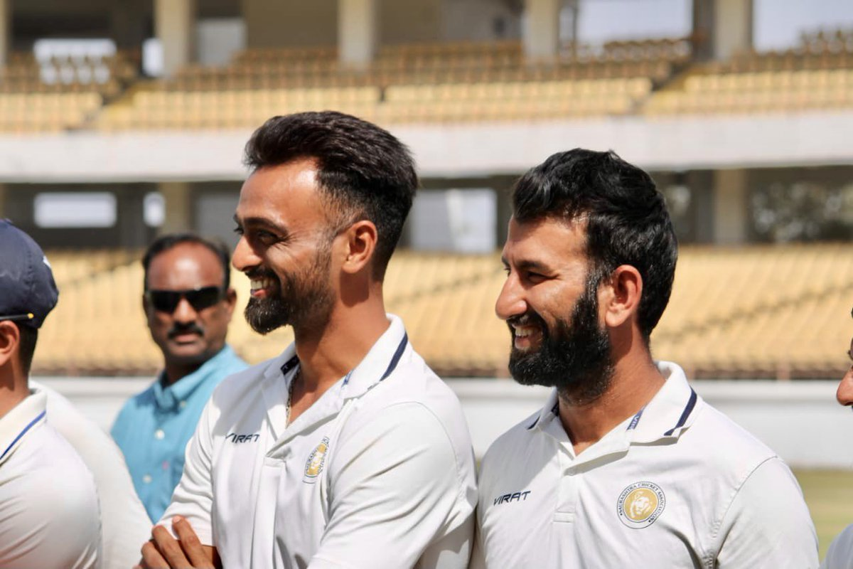 To the warrior that never bows down, to the champion who keeps creating history, to the friend that always stands by the side, Happy Birthday @cheteshwar1 💝