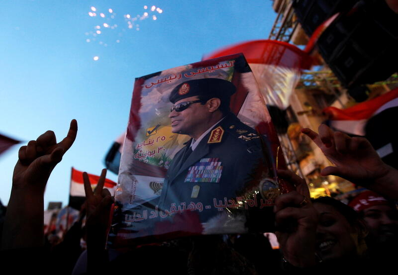 Abdel Fattah al-Sisi, who became president in 2014 after leading the overthrow of the Muslim Brotherhood's Mohamed Mursi, has overseen a crackdown that activists call the harshest for decades https://t.co/PxuIV5RQ3e