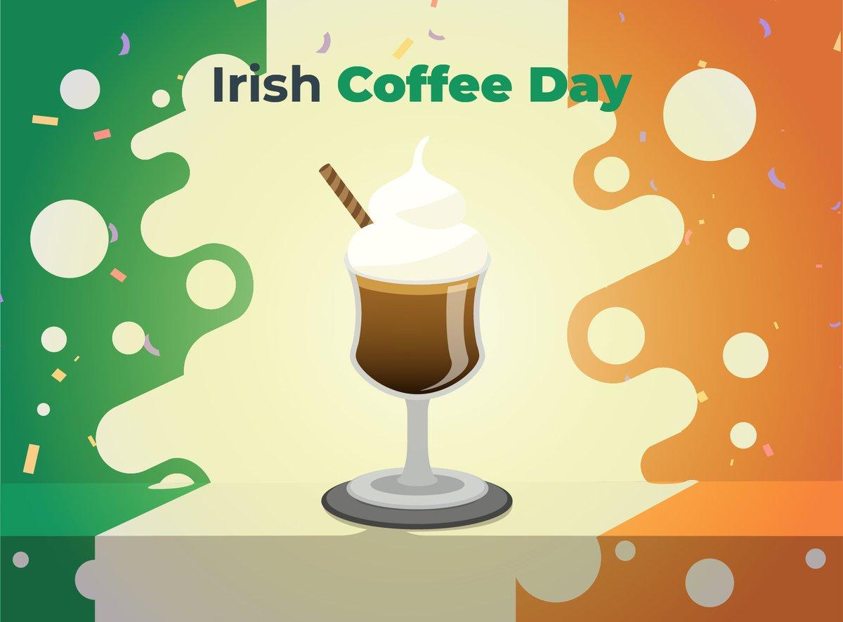 A cup of coffee is almost like a good talk with a friend. Happy Irish Coffee Day! #irishcoffee #coffeetime #CoffeeLover #HappyDays #sytoss