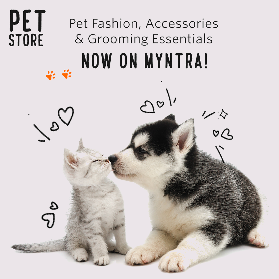Know any pet parents? Tag 'em here coz it's time your furry friends doll up in style too! Pet fashion, accessories and grooming essentials are now available on #Myntra.   Check out the Pet Store on Myntra NOW. 🐶🐱    #PetStoreOnMyntra