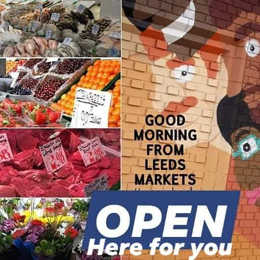 Monday morning, the start of a fresh week. We are open every day for all your essentials. Please support our traders. You can shop #outdoors in the fresh air with lots of space for distancing. And you can shop #indoor in a safe and secure environment with no queues.