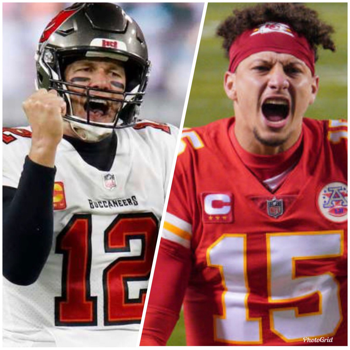 #SuperBowlLV is set! #TomBrady and the @Buccaneers versus #PatrickMahomes and the @Chiefs 🏈 Who you liking early? 🤔 It's gonna be a good one!