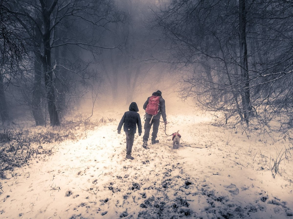 A wintery walk is good for the soul! Embrace the elements and explore your local area following the current guidelines #Mondaymotivation #GetOutside  #walking #outdoors @OSleisure @WalksBritain
