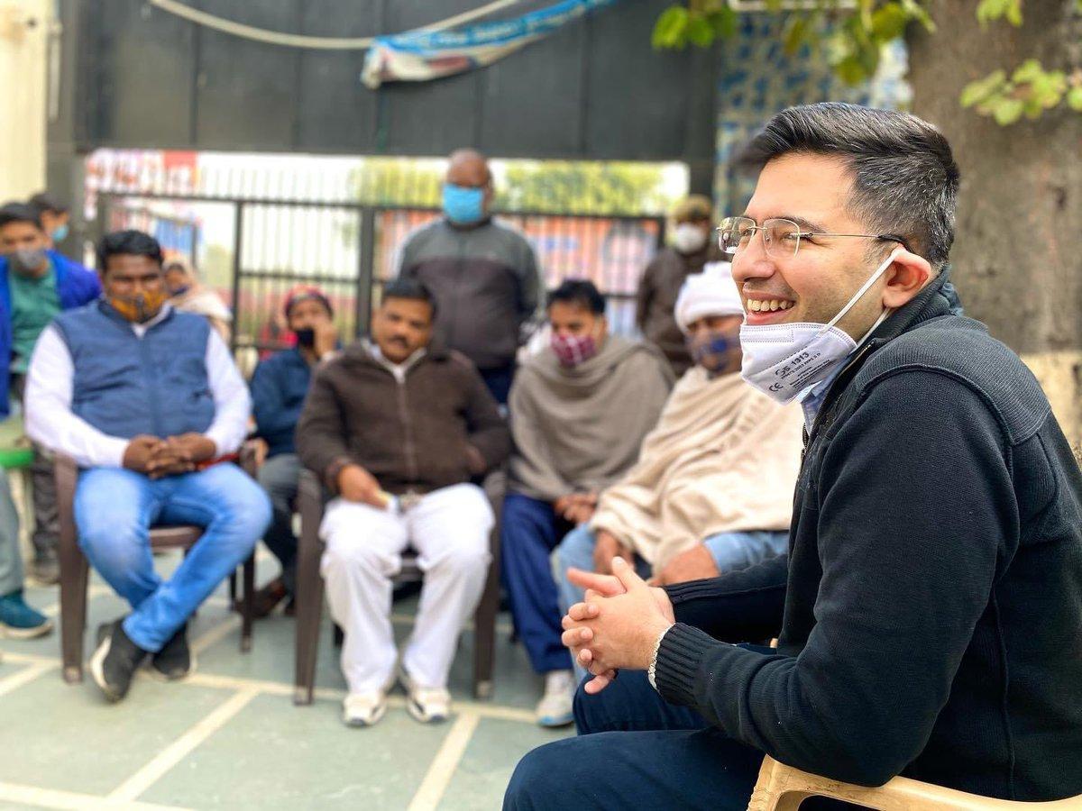 Replying to @RaghavChadhaOfc: विधायक श्री @raghav_chadha द्वारा इंद्रपुरी कार्यालय में आयोजित जन सुनवाई