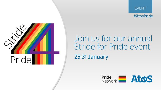 🌈 There are many ways you can participate in our #StrideforPride event this week...