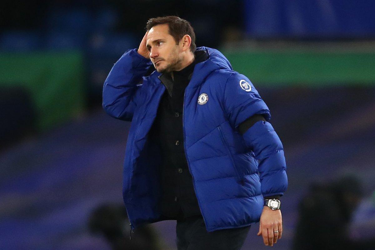 Chelsea sa thải HLV Frank Lampard
