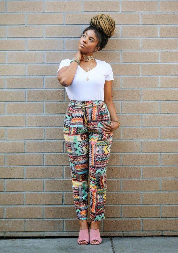 White tops, Ankara Leggings combo. Yay or Nah  (Believe me, I've seen shocking imitations 😅)  #fashion #Ankara #white #Nigeria  #Fryk