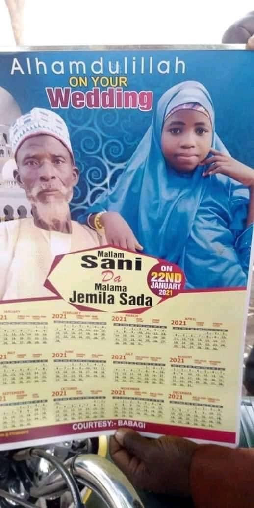 Elderly grandfather weds young girl    #BetiBachaoBetiPadhao  #Nigeria
