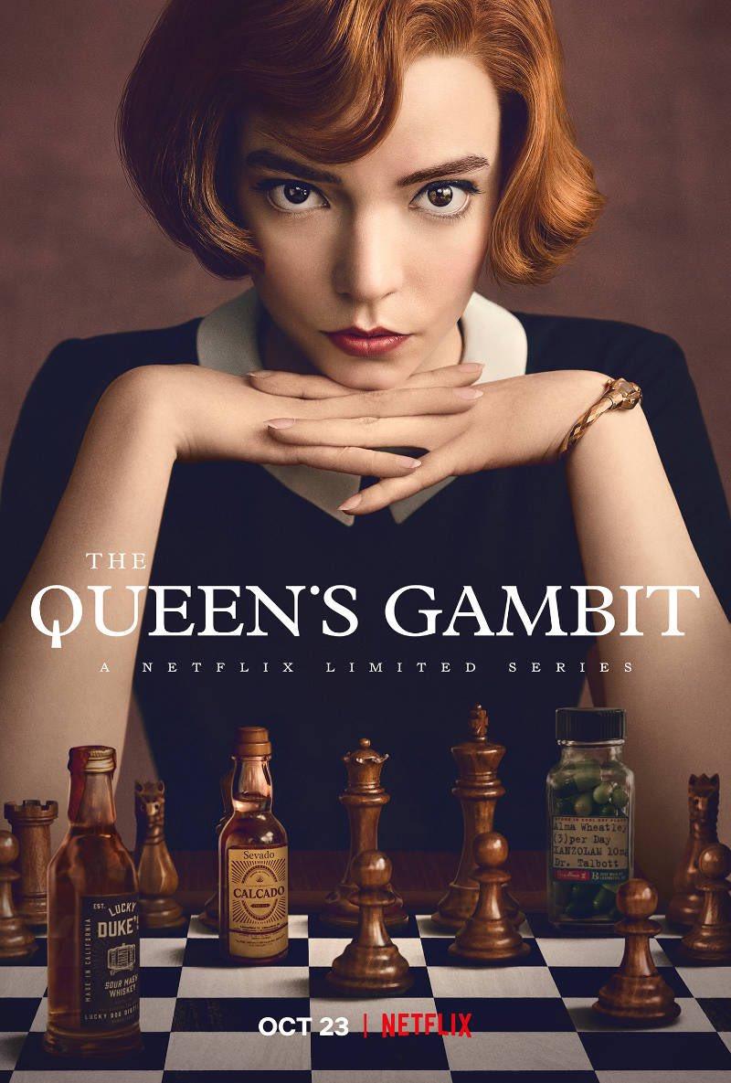 Amo esto:  #GambitoDeDama  #cine  #ajedrez  #netflix