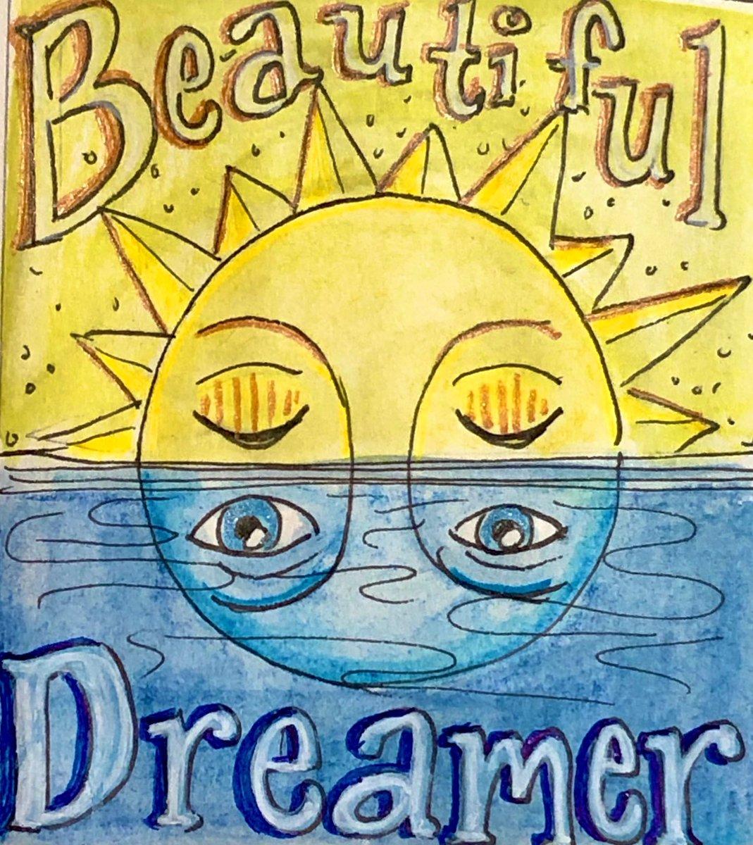 Good morning dreamers. 🌝 Happy Monday.  ✨✨✨ #MondayMood #draweveryday