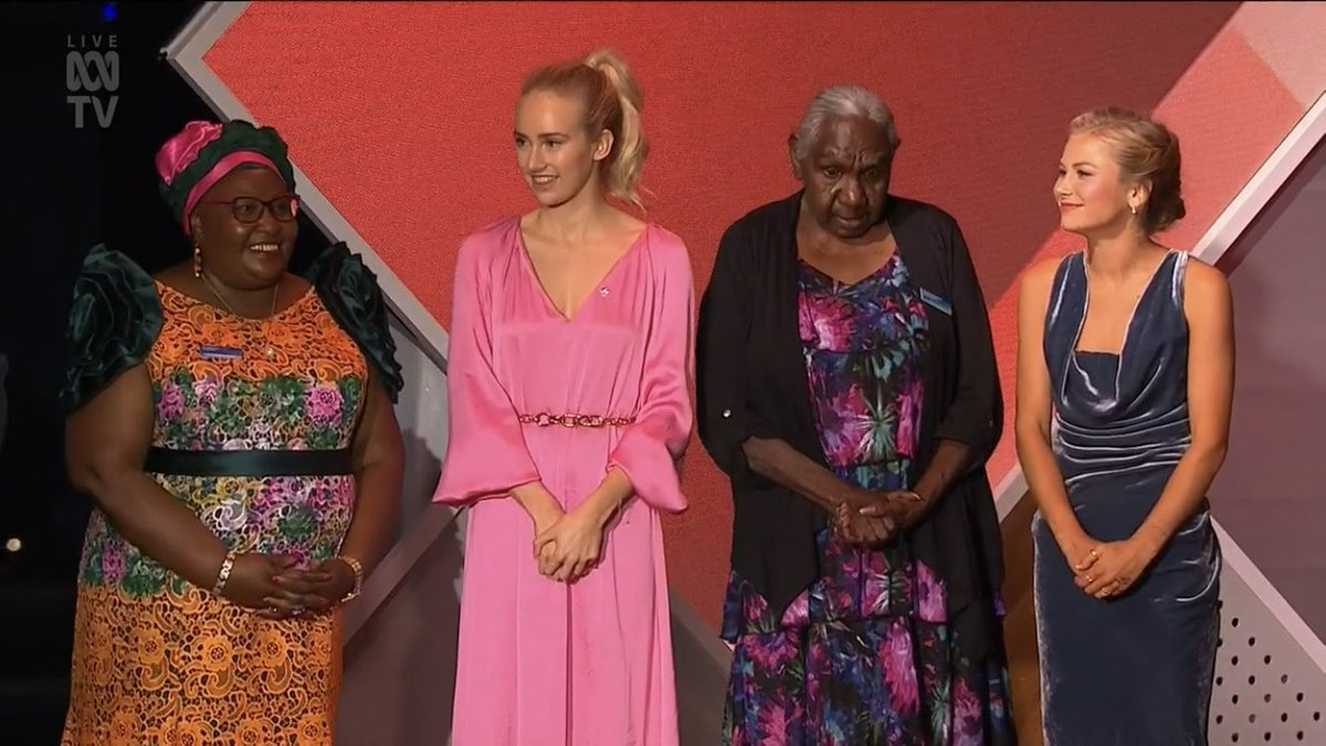 Four spectacular women have rightly been acknowledged.   May be learn from them.  May we celebrate them.  May we honour them.  May we respect them. 🙏🏼  #ausoftheyear #AustralianoftheYear
