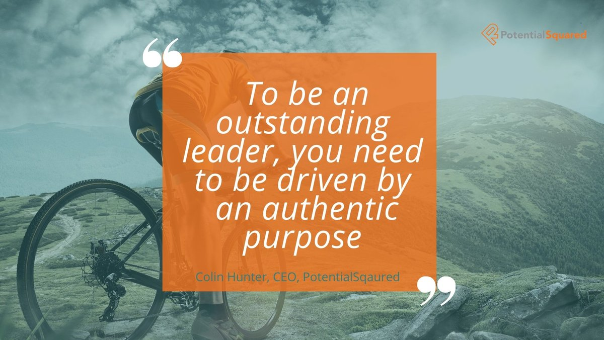 """To be an outstanding leader, you need to be driven by an authentic purpose"".  What drives you as a leader, have you found your purpose? . . . #Leadership #Inspiration #LeadershipInnovation https://t.co/Ye0gzxbIkA"