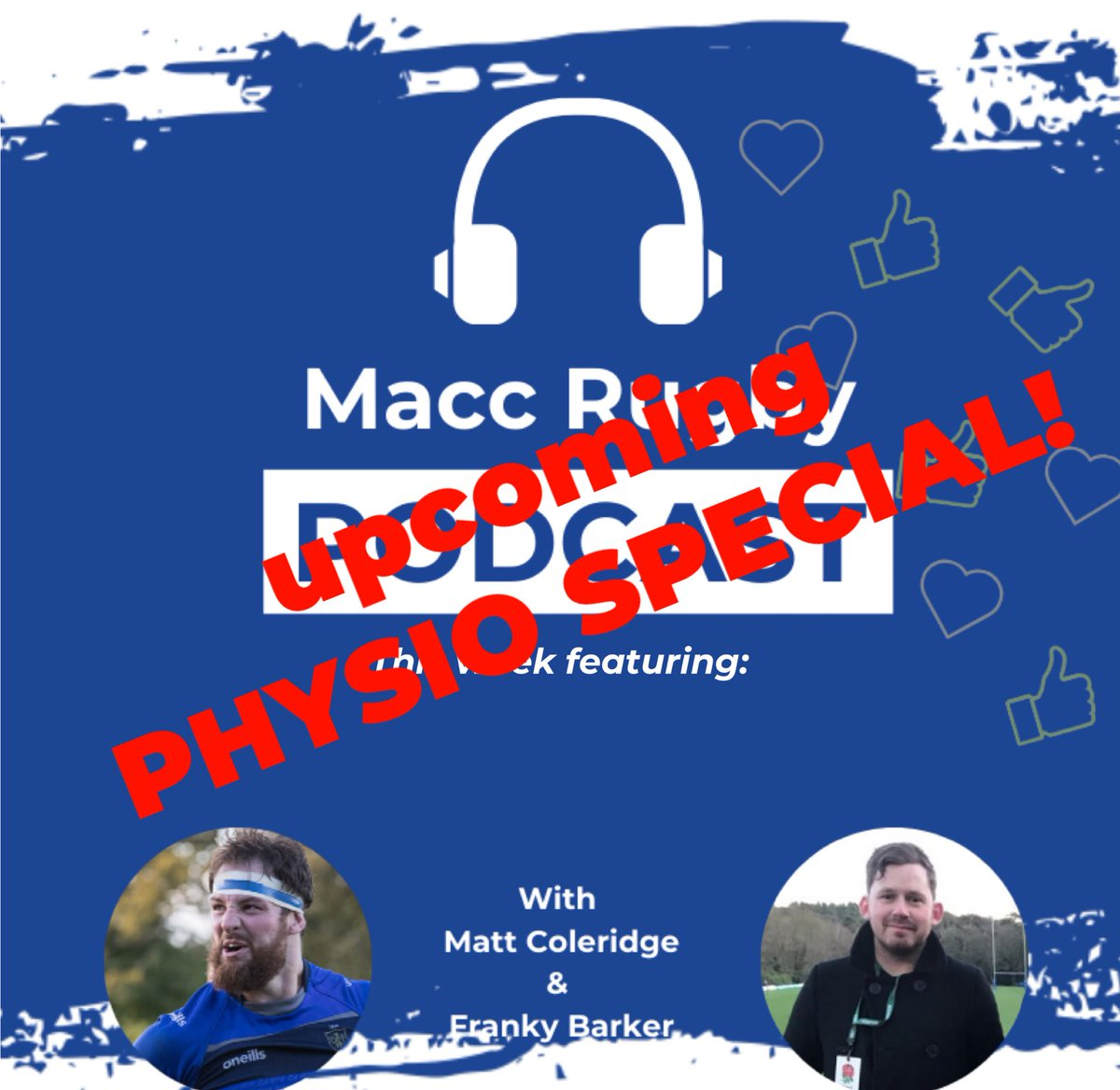 test Twitter Media - We need you!! The pod has an upcoming episode dedicated to the role of the physio!! Any budding physios or if you are just interested please send us the questions you want us to put to 1st XV Head of Physiotherapy Izzy Adlington!! https://t.co/rdrSJqTHiB