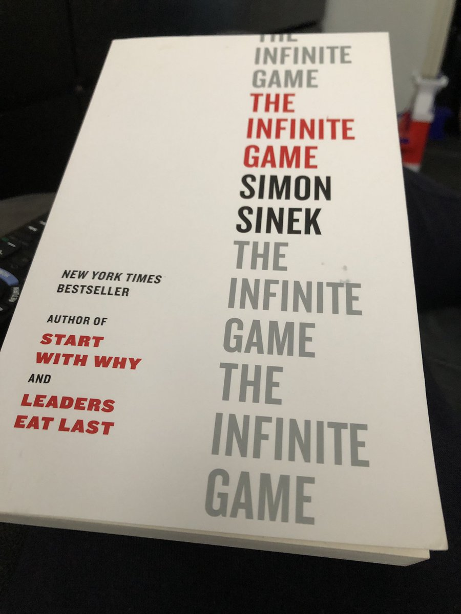 Now reading another @simonsinek book, helping him to advance his just cause as the book helps me to understand mine. Win + Win = WinWin #justcause #Optimism #leadership @LeadershipClub_ https://t.co/kP8gdCpOTk